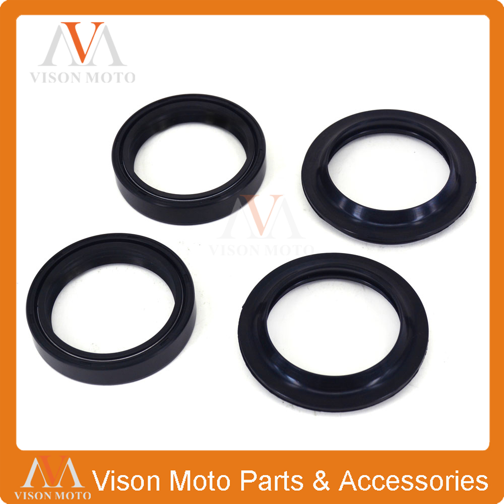 Front Shock Absorber Fork Damper Oil Seal For YAMAHA YZ125 YZ 125 WR250F WRF250 YZ250 YZ 250 YZ250F YZF250 WR450F WRF450 front shock absorber fork damper oil seal for kawasaki zx600 ninja zx6 90 01 zx 6rr zzr 600 zx636 zx6r kle650 versys motorcycle