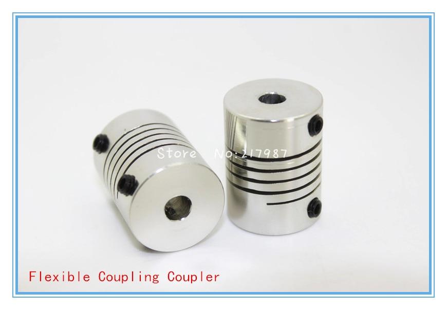High Quality 1PCS 3D Printer Stepper Motor Flexible Coupling Coupler /Shaft Couplings 5mm*8mm*25mm Flexible Shaft