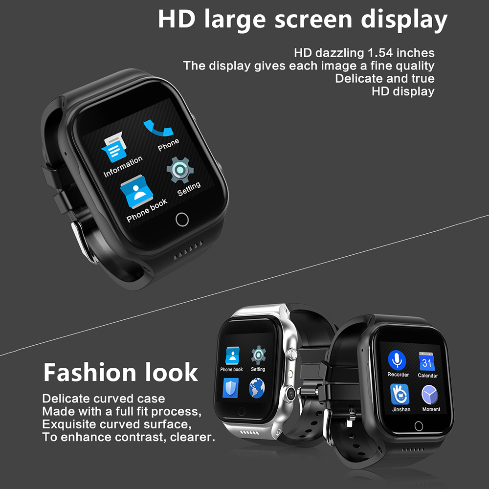X89 smart wristband watch 1.54inch smart bracelet Android 5.1 Rom 8G support Sim card 3G Wifi Camera 2.0 MP SIM Card - 5