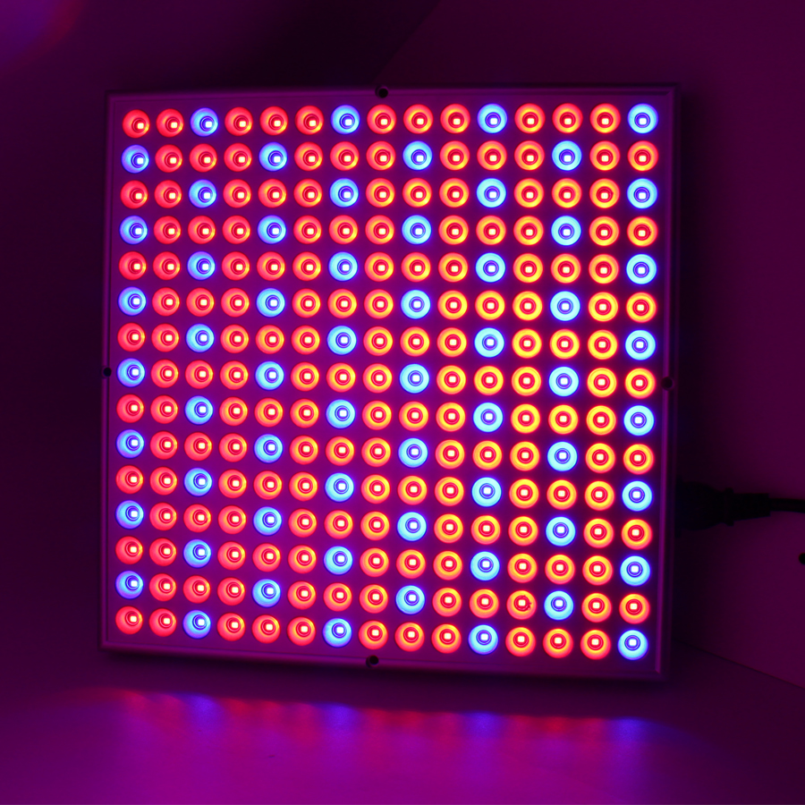 ФОТО 45W Plant LED Grow Light 225leds Full Spectrum LED Red Blue Lights For Hydroponic Greenhouse Flower Plant Lamp