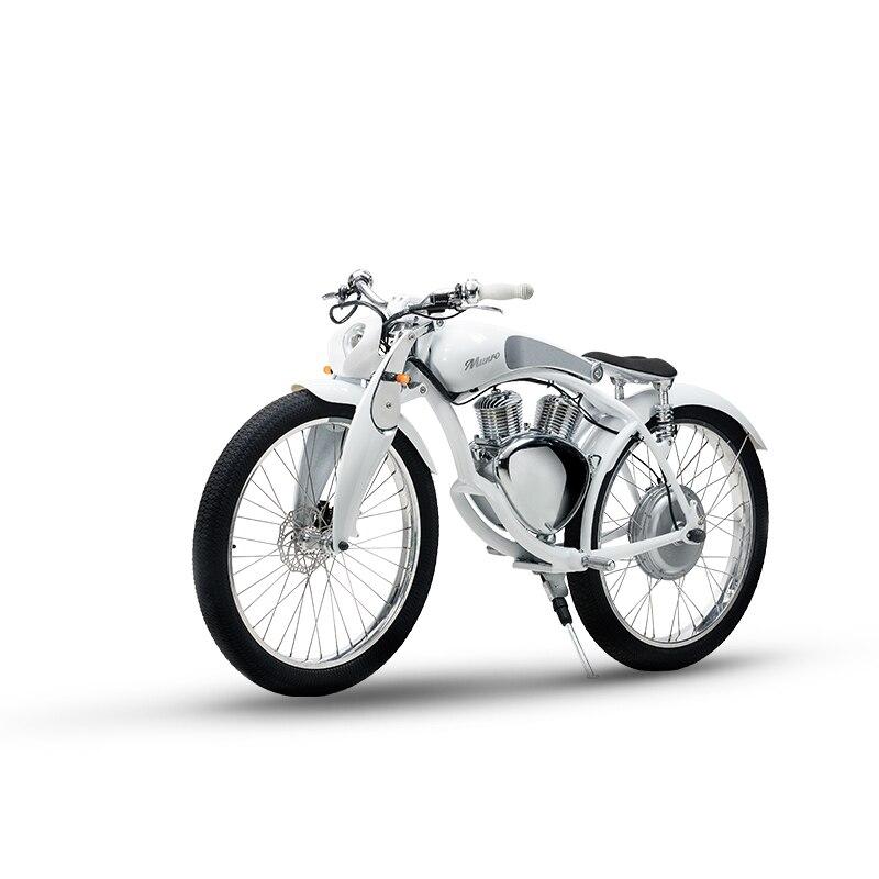 Munro2.0 lujo motocicleta eléctrica 26 pulgadas bicicleta eléctrica 48 V Litio batería...