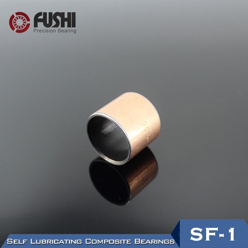 SF-1 Douille sans huile Roulement SF1-3615 SF1-3620 SF1-3630 (1 Pc) SF1 Autolubrifiant Roulements CompositesSF-1 Douille sans huile Roulement SF1-3615 SF1-3620 SF1-3630 (1 Pc) SF1 Autolubrifiant Roulements Composites
