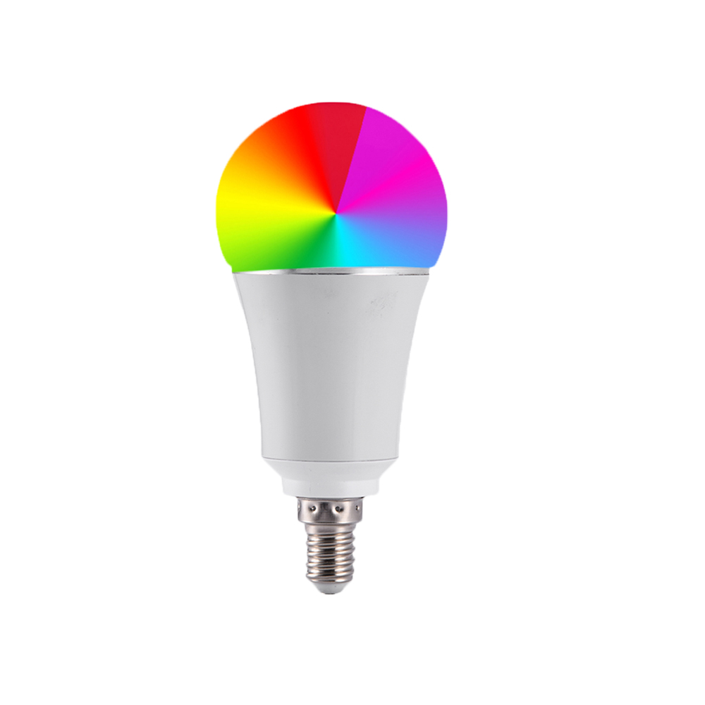 7W E27/E26/B22/E14 Smart Home Wireless WiFi LED RGB Bulb Support Alexa Google Dimming Dimmable