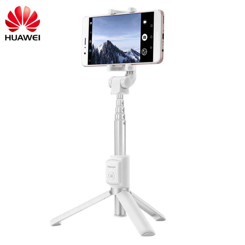 Original Huawei Honor Selfie Stick Tripod Portable Bluetooth3.0 Monopod For IOS/Android/Huawei Smart Phone