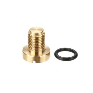 Image 2 - 1pc Brass Coolant Expansion Tank Bleeder Screw Includes Rubber O ring 17111712788 For BMW E36 E39 E46 Z4