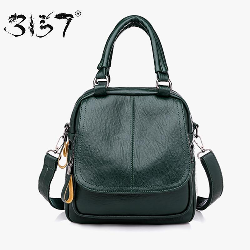 b17020db0d39 Купить 3157 женские кожаные рюкзаки Мини женские сумки на плечо PU дорожные  сумки маленькие школьные сумки для девочек модный рюкзак для женщин Цена  Дешево