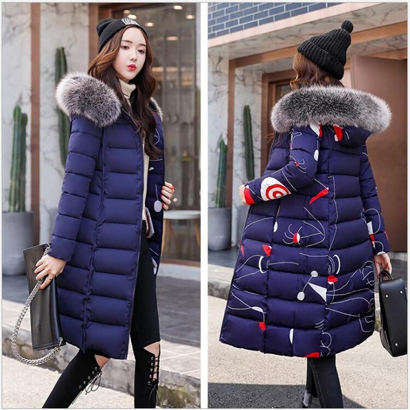 Hooded Winter Jacket Women 2019 women Coat Plus Size 3XL long female   Parka   Outwear for women Jaquata Feminina Inverno G197