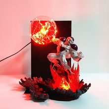 Dragão bola figura de ação freeza frieza lâmpada led modelo brinquedos anime dragon ball super estatueta freezer dbz esferas del dragão(China)