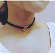 Stylish Wild Necklace Luxury Long Pendant Necklace Elegant Women New Leather Choker Hippy Necklace High Quality BK11 LX111 L0326(China)