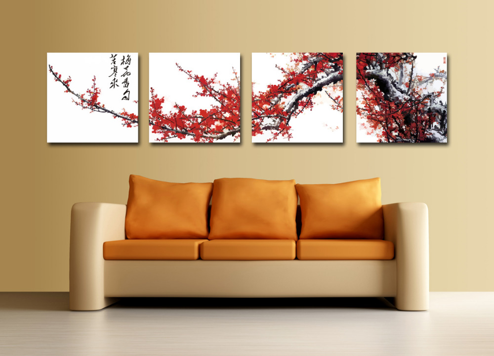 Traditional Wall Art popular traditional chinese wall red painting-buy cheap