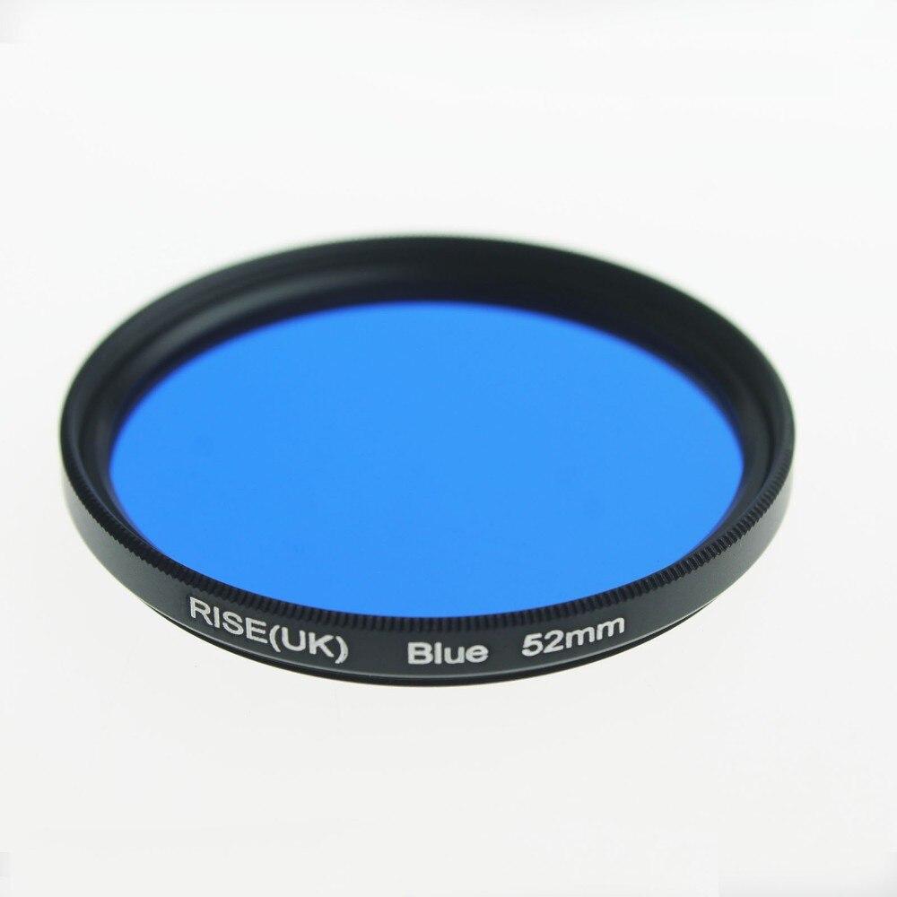 Gancho de Cámara de cierre de bucle UV Filtro Lente Bolsa Bolsa 12 Bolsillos Azul Negro