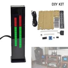 Professional DIY AS30 30 Segment Stereo Music Spectrum Analyzer LED Level Display Kits VU Meter DIY Kits Music Spectrum VU Meter