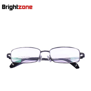Image 3 - Free Shipping 100% Pure Titanium Full Rim Brand Eyeglasses Men Optical Spectacle Frame Eye Prescription Glasses Oculos De Grau
