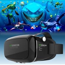 google Cardboard VR shinecon Pro Version VR Virtual Reality 3d Glasses xgimi z4x+Smart Bluetooth Wireless Remote Control Gamepad