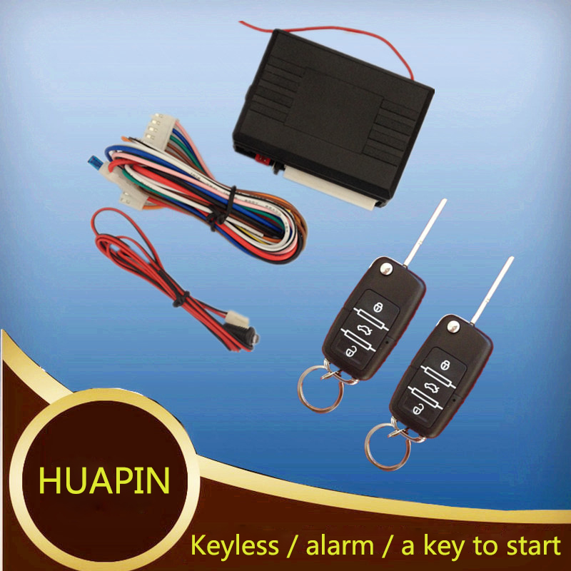 Kit de verrouillage centralisé à distance universel contrôleurs d'émetteur de véhicule verrouillage automatique sans clé bouton d'entrée démarrage arrêt système d'alarme de voiture