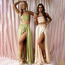Two Piece Women Party