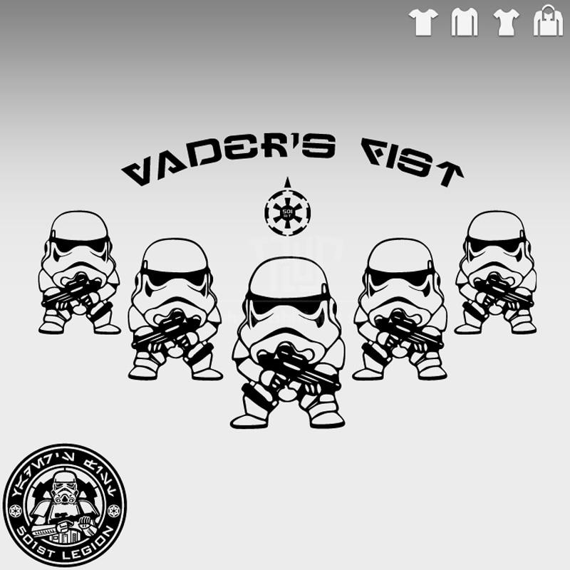 ̿̿̿(•̪ )Stormtrooper de Star Wars 501st vader puño hombres uniserx ...