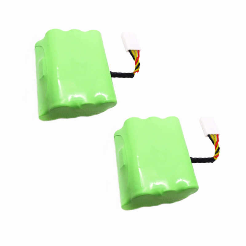 2 pcs 7.2v 4500mAh battery pack for Neato XV-21 XV-11 XV-14 XV-15 robot vacuum cleaner parts neato xv battery signature pro