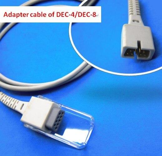 Spo2 Extension Adapter Cable Compatible Nellcor DEC-4/DEC-8