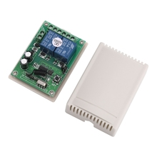DC 12V 2 Channel RF 433MHz Wireless Remote Control Switch Relay Receiver Module LS'D Tool qiang vgg24 220v 2 channel remote switch module 2 key remote control green
