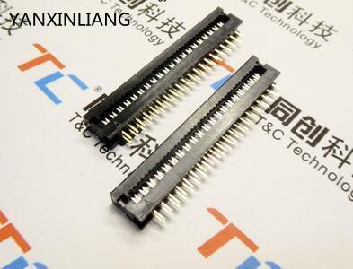 10 pcs 2.54mm 2x20 Pin FD 40 Pin Male Header IDC Cable Transition Connector new original 10pcs 1x40 pin 2 54 round male pin header connector