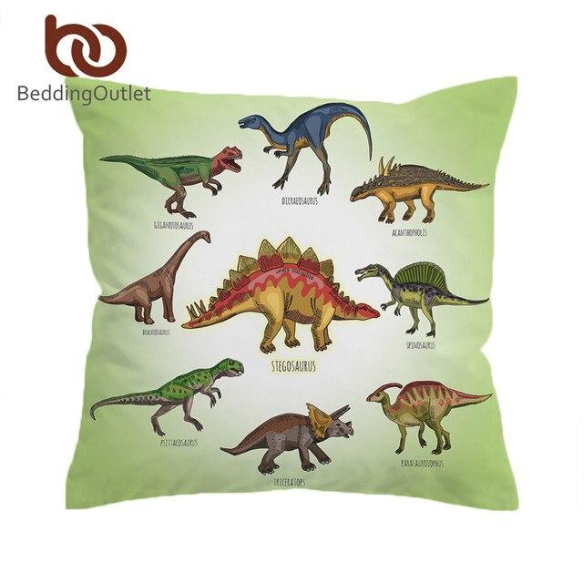 BeddingOutlet Dinosaur Famiglia Fodere per Cuscini Del Fumetto Dei Capretti Cope