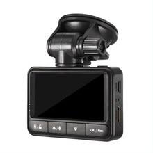 2.45 дюйма Видеорегистраторы для автомобилей Камера видео Регистраторы Ночное видение GPS регистраторы автомобиля видеокамера 140 Широкий формат G-Сенсор DVRs регистраторы