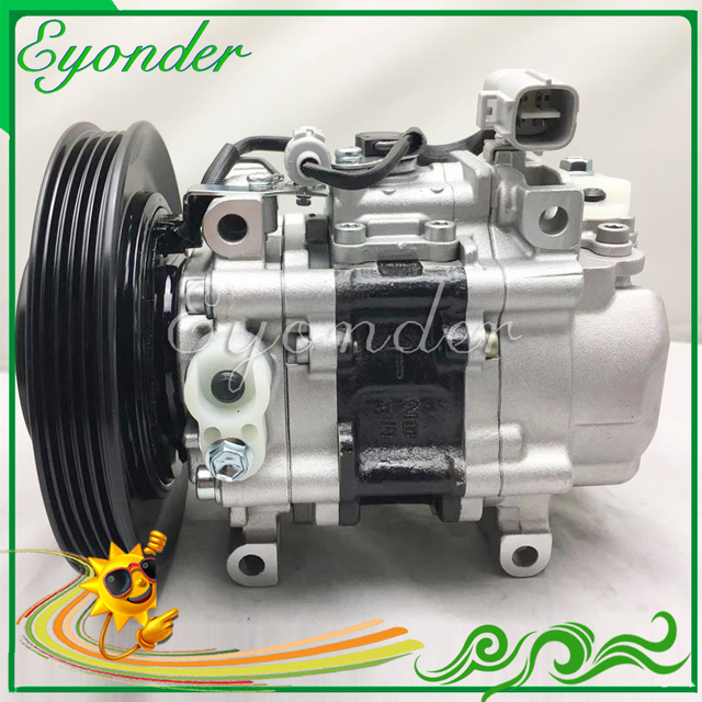 US $138 0 |TV12C AC A/C Air Compressor Cooling Pump for TOYOTA COROLLA  SECCA AE101 AE111 AE102 1 6 92 02 4425002631 883201A440 4425002572-in Fans  &