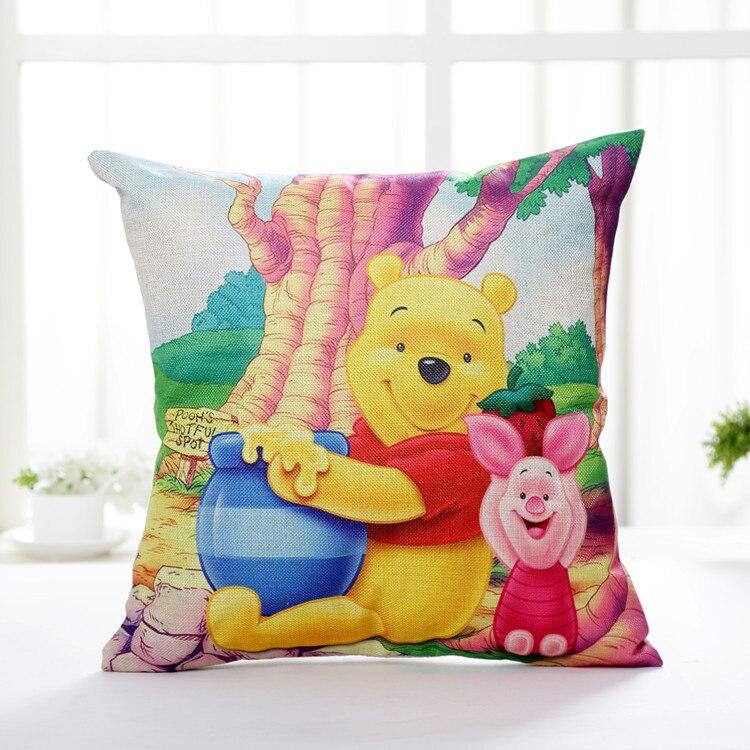 Winnie & Pooh artistic cushion cover PillowCase printed
