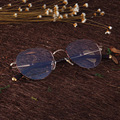 Colorido Armações Retro Rodada Óculos Moldura para Homens e Mulheres