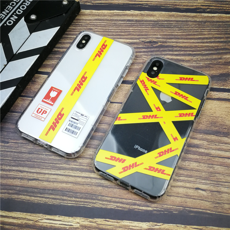 Fashion Dhl Clear Soft Case For Iphone X Xs Max Xr 8 7 6 6s Plus Silicon Phone Cover Anti-fall Coque Matte Funda Capa 8plus