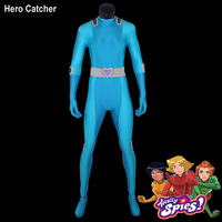 Hero Catcher High Quality Totally Spies Costume Sam Cosplay Costume Totally Spies Blue Costume For Woman