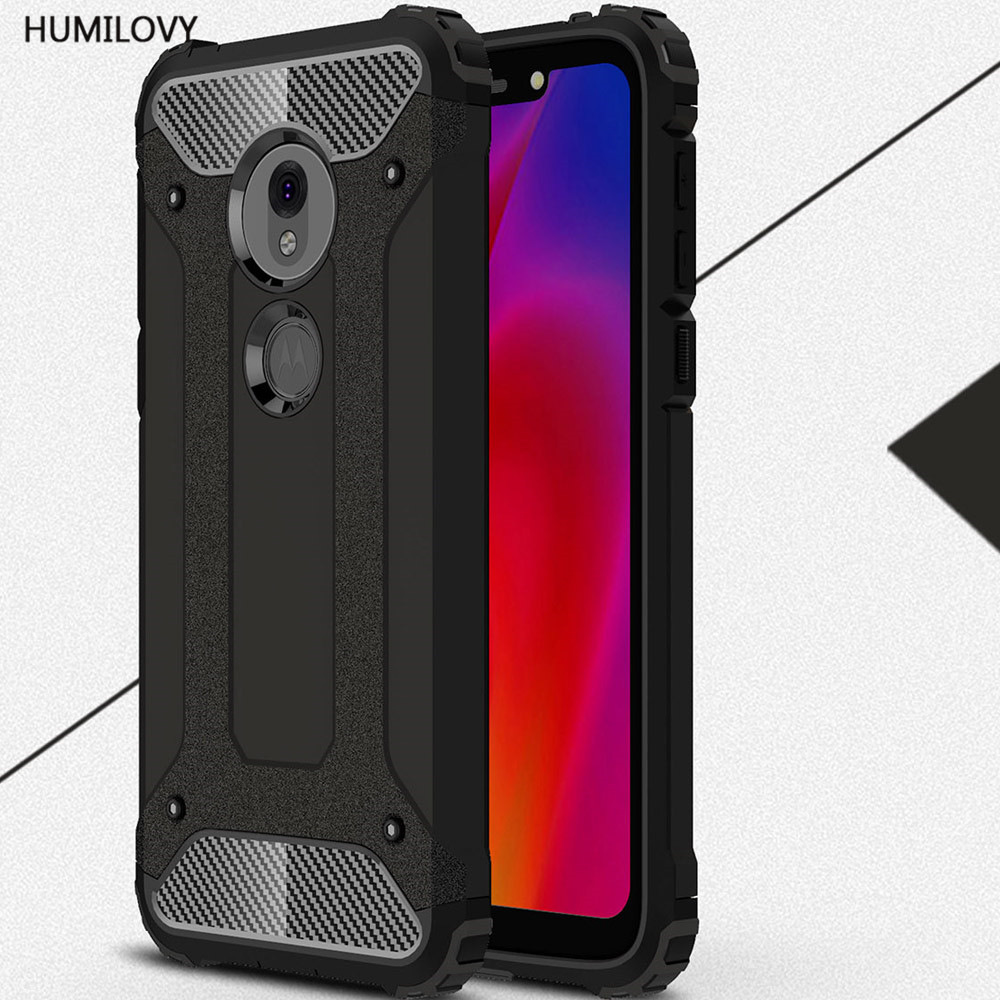 For Motorola Moto G7 Play Cover Rubber Armor Shell Hard PC Phone Cover For Motorola Moto G7 Play Case For Moto G7 Play XT1952