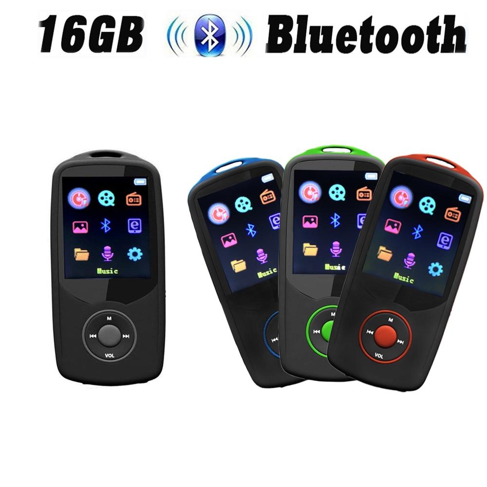 Unterhaltungselektronik Aufrichtig Neue Version Mp4 Player Mit Bluetooth4.0 Ruizu X06 Musik Player 8 Gb/16 Gb Farbe Menü Bildschirm Hohe Qualität Mit Fm Radio Recorder äRger LöSchen Und Durst LöSchen Mp4 Player