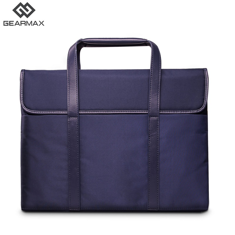 Gearmax Laptop Briefcase Bag For Women Pink Black Blue Laptop Briefcase Bag Slim Handbag for 14 Ultrabook Macbook Air 13 Handbag