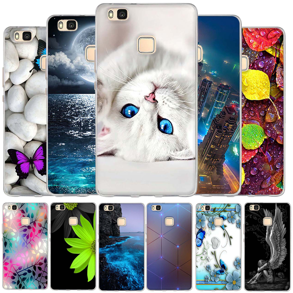 Case For Huawei P9 Lite Case Cover TPU Silicone Cover For Huawei P9 Lite / G9 Lite Phone Case Fundas For Huawei P9 Lite Coque