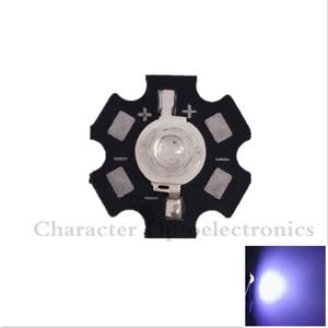 20 шт. 3 Вт высокомощный Светодиодный УФ-чип 365nm 375NM 385nm 395nm 400nm 415nm 425nm Ультрафиолетовый с 20 мм Звезда pcb DIY