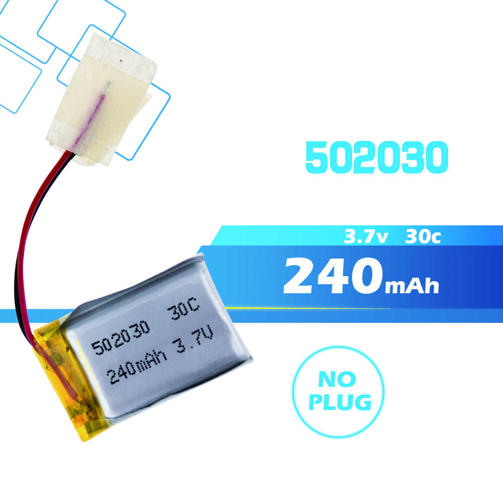 1 2 3 Pcs 3.7V 240 MAh 30C Li Po Battery 502030 1 Pcs Hot Sale untuk 6020 SYMA S107 S108 S109 S026 RC Helikopter RC Quadcopter