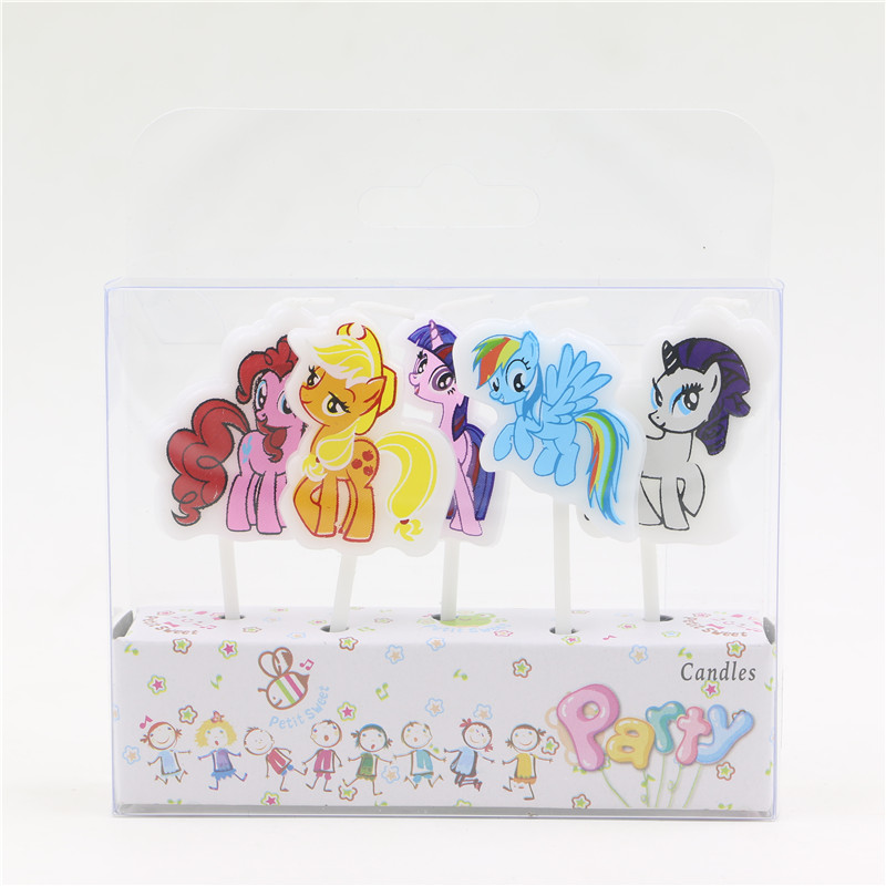 Tremendous My Little Pony Printed Cartoon Candles Birthday Decorations Party Personalised Birthday Cards Beptaeletsinfo