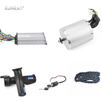 KUNRAY 48V 1500W 1600W DC Brushless Motor Set Electric Bicycle Scooter Motorcycle Conversion Kit With Speed Controller Throttle