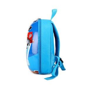 Image 3 - باو باترول الكلب حقيبة ظهر ذات سعة كبيرة لمكافحة خسر سهلة لتنظيف حبل السفر الأساسية غير مؤذية الكرتون الأطفال عمل أرقام هدية