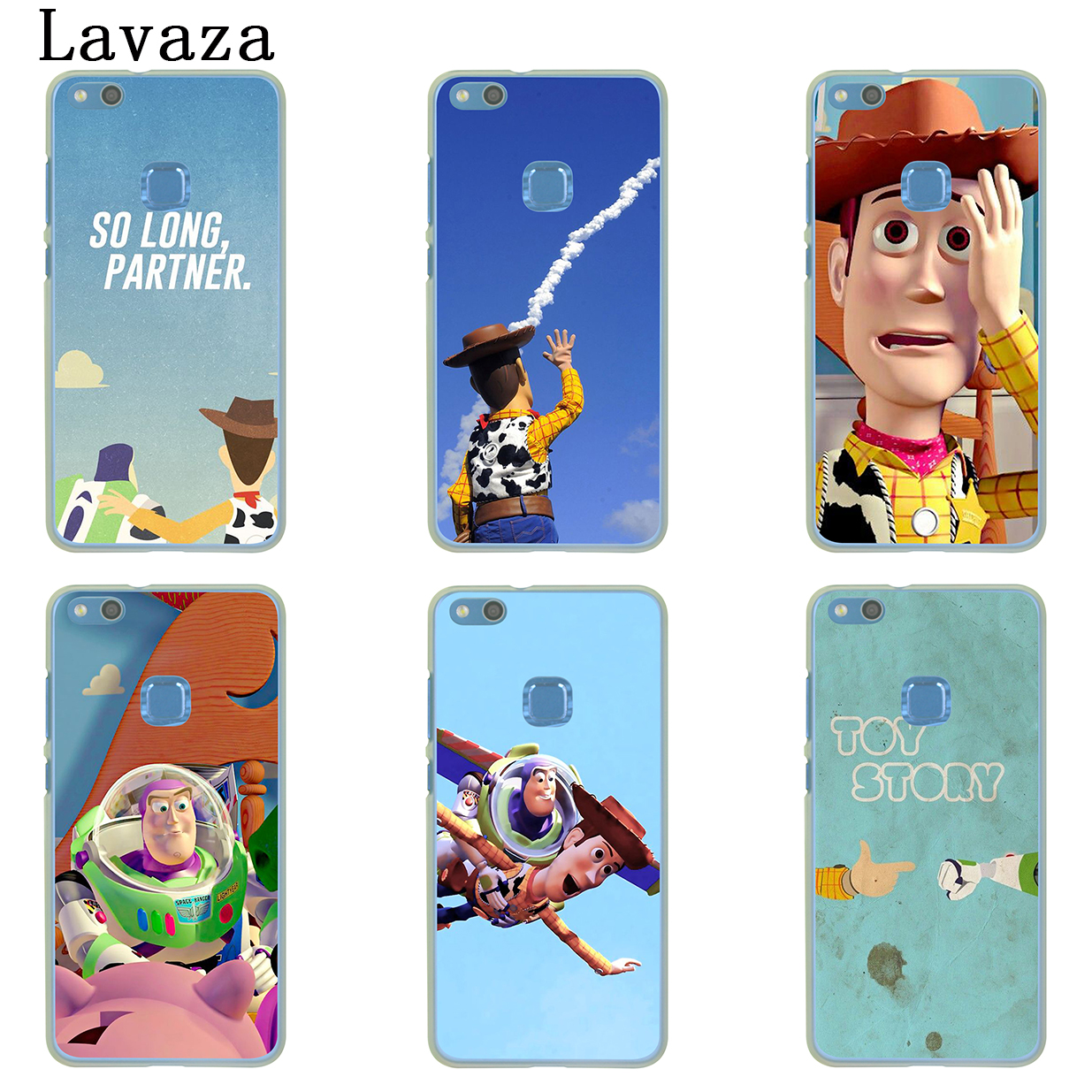 Fashion Style Toy Story Pizza Planet Hard Phone Cover Case For Huawei Honor Play 10 8c 8x 8 9 Lite 7c 7x 6a 7a 6c Pro Cellphones & Telecommunications