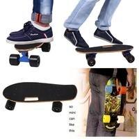 New Deck Longboard Wood Skateboard 4 Wheel Longboard Mini Drift Skate Board Fish Plate Street Skateboard