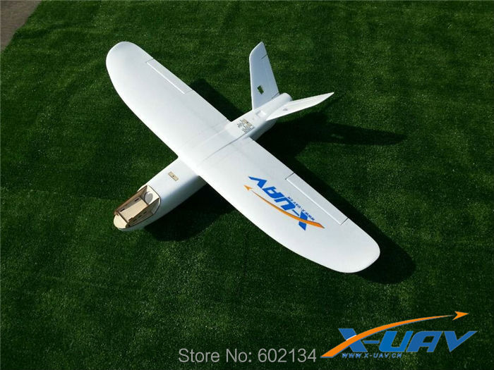 White Air Flying Radio Glider EPO Model Airplane Model X-UAV--mini TALON  FPV PLANE (HAVE KIT SET AND PNP SET) fpv x uav talon uav 1720mm fpv plane gray white version flying glider epo modle rc model airplane