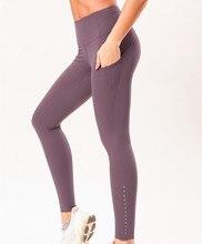 Yoga Pants Leggings Sport Women Fitness Legins Push Up Gym High Waist Anti-sweat Leggins with Pocket Workout Ankle-Length