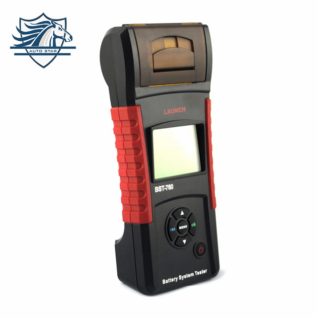 [LAUNCH Distributor] original launch bst760 battery tester BST-760 Bst 760 Battery System Tester-EA printer paper As gift