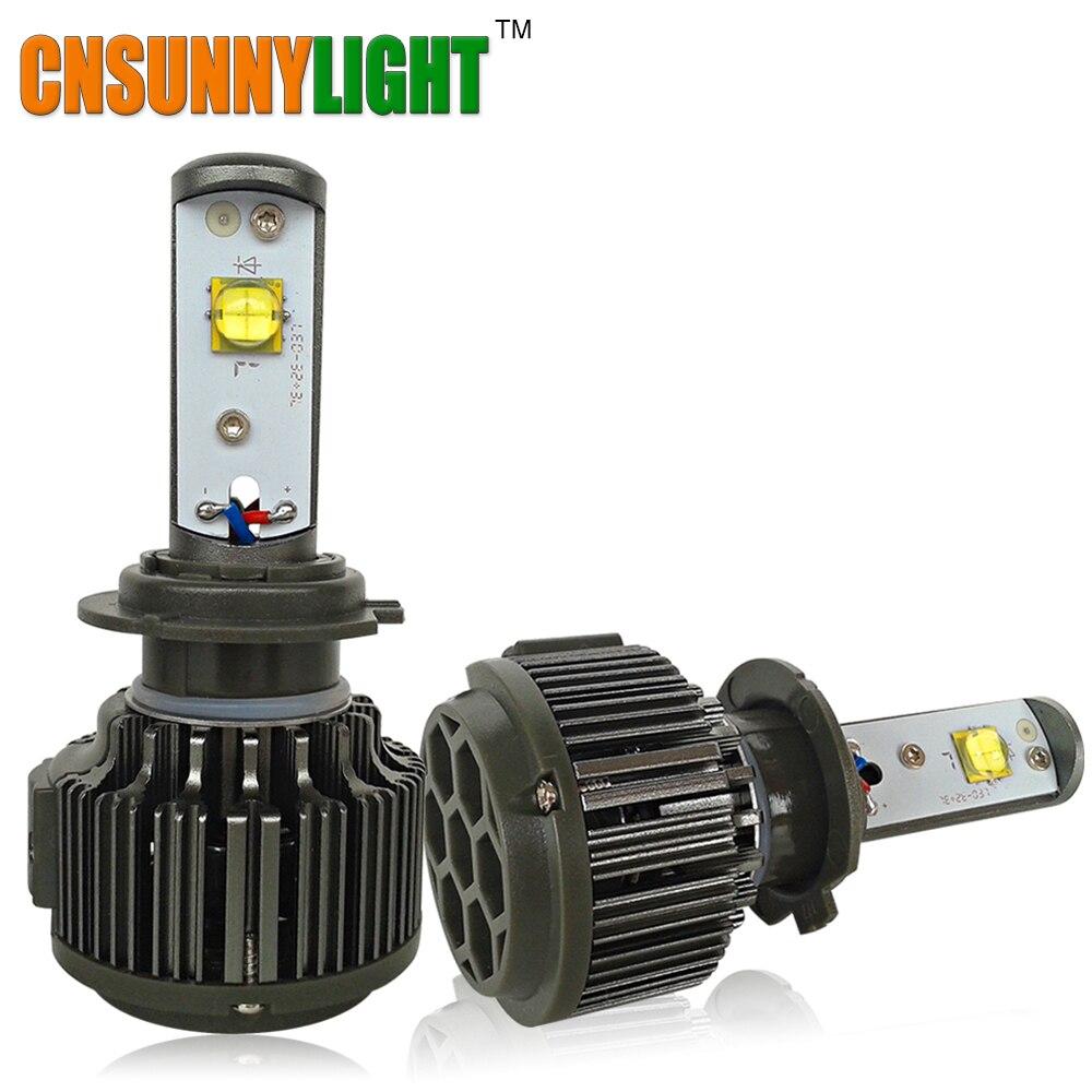 Prix pour CNSUNNYLIGHT H7 LED PHARE DE VOITURE 30 W 3600LM AMPOULE H8 H9 H11 HB3 HB4 9005 9006 H1 H3 880 Automobile Remplacement Lumière Blanc ampoules
