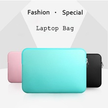 13″ Hot Portable Soft Laptop Bag Fashion Notebook Liner Sleeve Zipper Hand Bag Tablet PC Protective Pouch Case For 13 inch Oc28