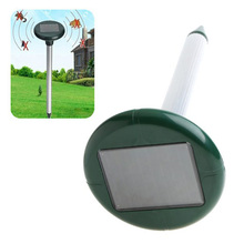 FLST TIMETOP Yard Solar Power Mouse Mice Mole Gopher Rodent Pest Repeller Chaser