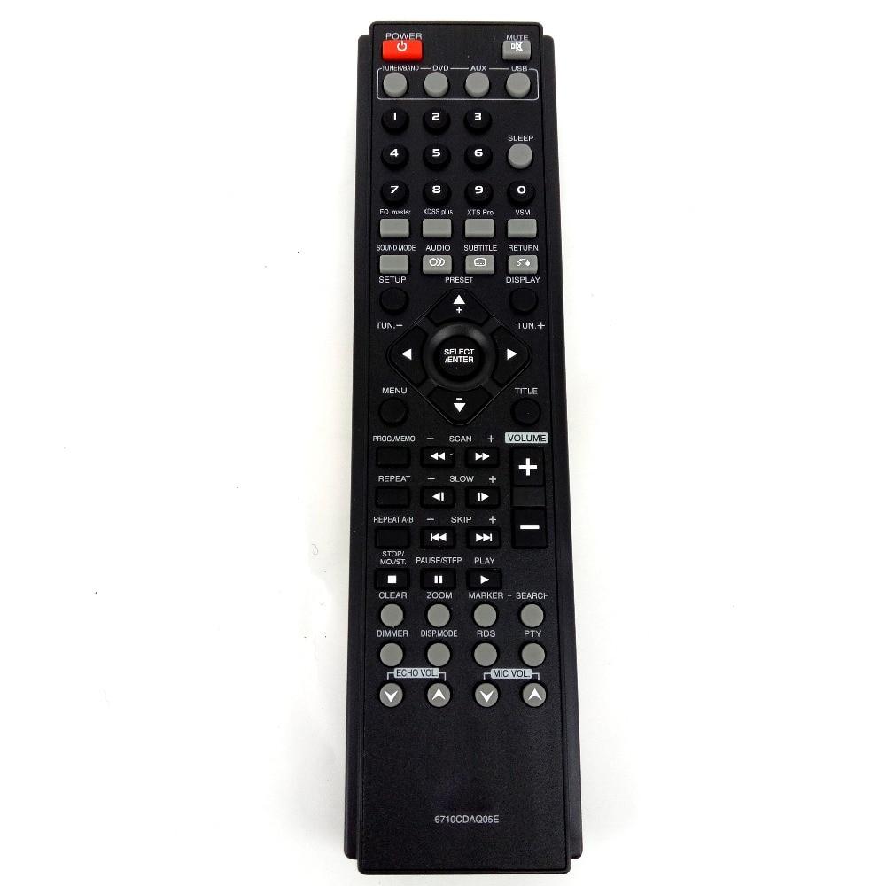 New Original For LG 6710CDAQ05E DVD AV Audio Home Theatre System Remote Control writing for theatre